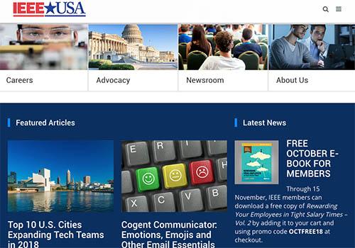 IEEE-USA | Vega Website Awards