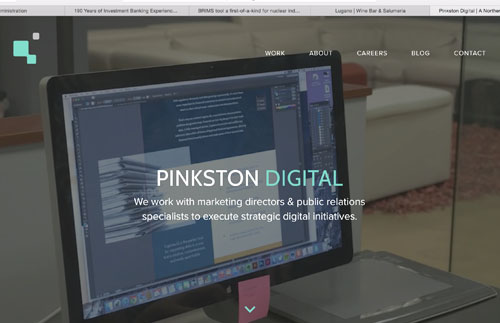 Pinkston Group | Vega Website Awards